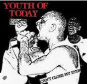 YOUTH OF TODAY - CAN'T CLOSE MY EYES STICKER