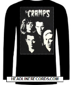CRAMPS - BAND PICTURE LONG SLEEVE TEE SHIRT