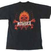 METALLICA - REBEL (PUSHEAD) TEE SHIRT