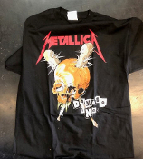 METALLICA - DAMAGE INC TEE SHIRT