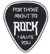 AC/DC - I SALUTE YOU PATCH