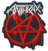 ANTHRAX - MASTER LOGO PATCH