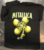 METALLICA - BYE SEE THE LUCKY PIECE (PUSHEAD) TEE SHIRT