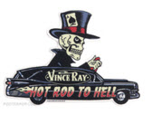 VINCE RAY STICKER - HEARSE STICKER