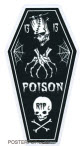 PIGORS STICKER - POISON COFFIN STICKER