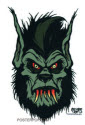 PIGORS STICKER - BLOODY WOLFMAN STICKER