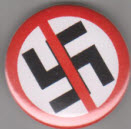 BIG BUTTON - CROSS SWASTIKA - BUTTON / BOTTLE OPENER / KEY CHAIN
