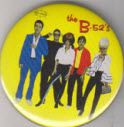 B52'S - 1ST ALBUM - BUTTON / BOTTLE OPENER / KEY CHAIN / MAGNET