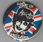 ADICTS - MADE IN ENGLAND BUTTON / BOTTLE OPENER / KEY CHAIN / MA