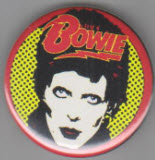 BOWIE - FACE BUTTON / BOTTLE OPENER / KEY CHAIN / MAGNET