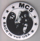 MC5 - BACK IN THE USA BUTTON / BOTTLE OPENER / KEY CHAIN / MA