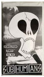SUBHUMANS - DEMOLITION BOX 81- 83 TAPES