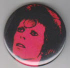 DAVID BOWIE - ZIGGY BUTTON / BOTTLE OPENER / MAGNET / KEY CHAIN