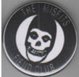 MISFITS - FIEND CLUB BUTTON / BOTTLE OPENER / KEY CHAIN / MAGNE