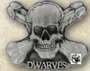 DWARVES - LOGO BELT BUCKLE