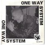 ONE WAY SYSTEM - NO ENTRY