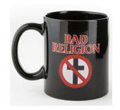 BAD RELIGION - CROSS BUSTER COFFEE MUG