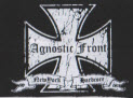 AGNOSTIC FRONT - IRON CROSS PATCH