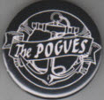 POGUES - ANCHOR BUTTON PIN / BOTTLE OPENER / KEY CHAIN / MAGNET