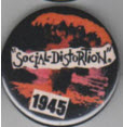 SOCIAL DISTORTION - 1945 BUTTON / BOTTLE OPENER / KEY CHAIN /