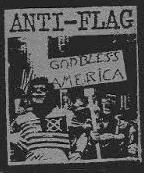 ANTI FLAG - GOD BLESS AMERICA PATCH