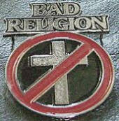 BAD RELIGION - CROSS BUSTER METAL PIN