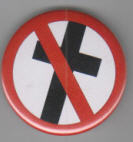 BAD RELIGION - CROSSBUSTER BUTTON / BOTTLE OPENER / KEY CHAIN /