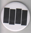 "BLACK FLAG - BARS 2.25"" BUTTON / BOTTLE OPENER / KEY CHAIN / MAG"