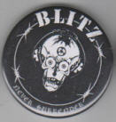 BLITZ - NEVER SURRENDER BUTTON / BOTTLE OPENER / KEY CHAIN /