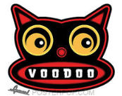 CHICO VON SPOON STICKER - VOODOO CAT