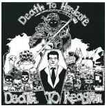 COMPILATION LP - DEATH TO HARDCORE, DEATH TO REAGAN