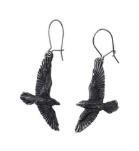 EARRING - BLACK RAVEN