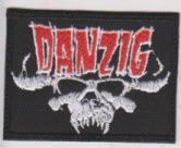 DANZIG - DANZIG WITH SKULL PATCH