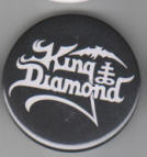 KING DIAMOND - KING DIAMOND BUTTON PIN