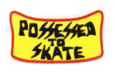 SUICIDAL TENDENCIES - POSSESSED TO SKATE PATCH