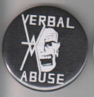 VERBAL ABUSE - LOGO BUTTON PIN / BOTTLE OPENER / KEY CHAIN / MAG