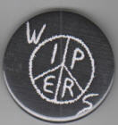 WIPERS - LOGO BUTTON PIN / BOTTLE OPENER / KEY CHAIN / MAGNET