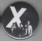 X - BAND PICTURE BUTTON PIN / BOTTLE OPENER / KEY CHAIN / MAGNET