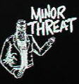 MINOR THREAT - BOTTLE VIOLENCE PATCH