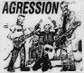 AGRESSION - SKELETON BAND PATCH